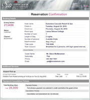 Travelanium internet booking engine as a hotel confirmation voucher at the same time our system also automatically sends this confirmation notification to hotels and customers email thecheapjerseys Image collections